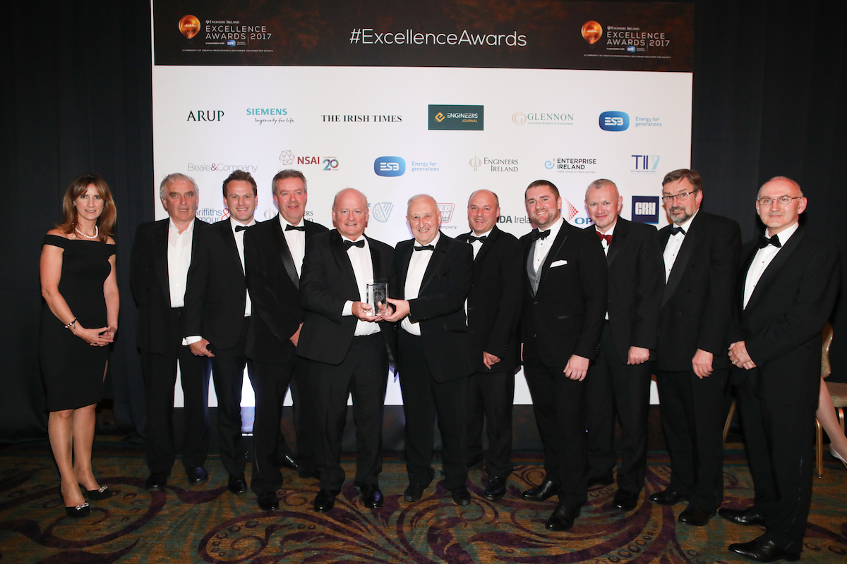 Engineers Ireland Project of the Year 2017